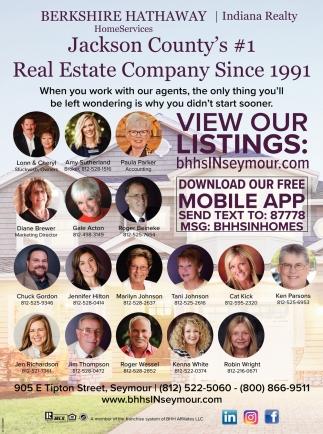 Jackson County's #1 Real Estate Company Since 1991