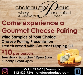 Come Experience A Gourmet Cheese Pairing