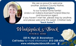 Winklepleck And Brock Funeral Home
