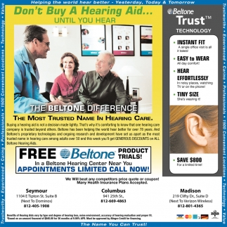 Don't Buy A Hearing Aid... Until You Hear