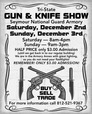 Tri-State Gun And Knife Show