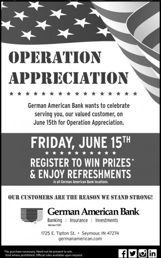 Operation Appreciation