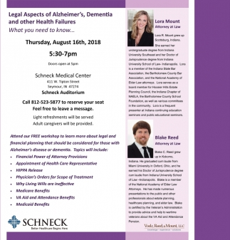 Legal ASpects Of Alzheimer's