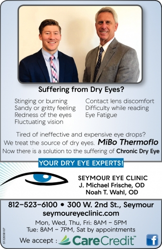 Suffering From Dry Eyes?