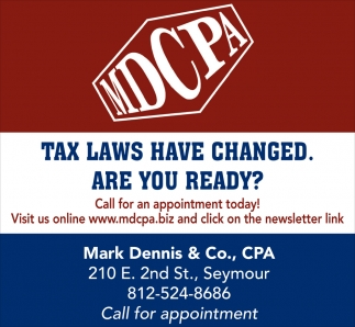 Tax Laws Have Changed. Are You Ready?
