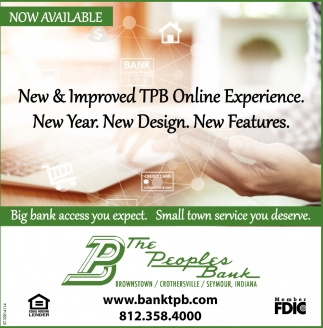 New And Improved TPB Online Experience