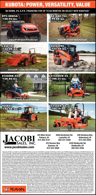 Kubota: Power, Versatility, Value