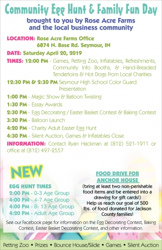 Community Egg Hunt & Family Fun Day