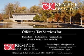 Offering Tax Service