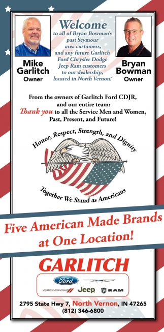Five American Made Brands At One Location!