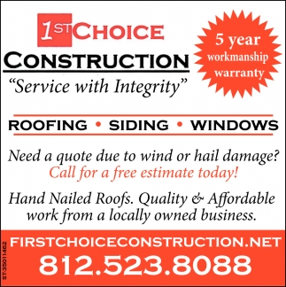 Roofing - Siding - Windows