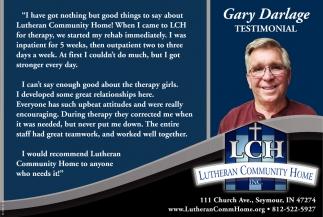 Gary Darlage Testimonial