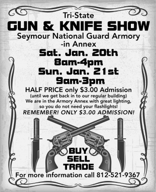 Tri-State Gun And Knife Show