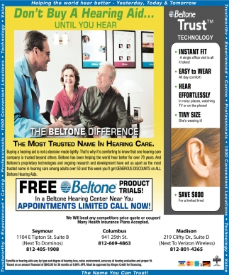 The Most Trusted Name In Hearing Care.