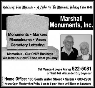 Builders Of Fine Memorials