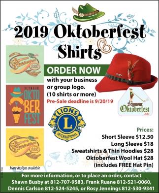 2019 Oktoberfest Shirts