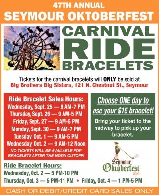 Carnival Ride Bracelets