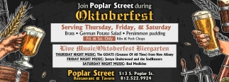 Join Poplar Street During Oktoberfest