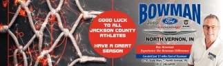 Good Luck To All Jackson County Athletes