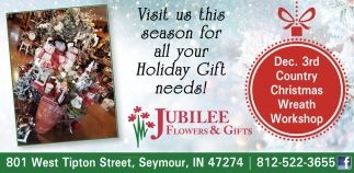 Visit Us This Season For Holiday Gift Needs!