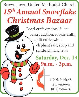 15th Annual Snowflake Christmas Bazaar