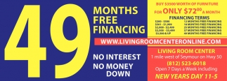 49 Months Free Financing