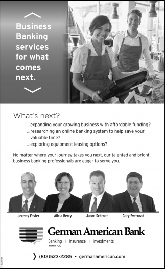 Business Banking Services For What Comes Next