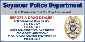 Report A Drug Dealer!
