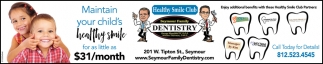 Maintain Your Child's Healthy Smile