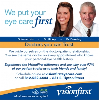 We Put Your Eye Care First