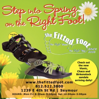Step Into Spring On The Right Foot!