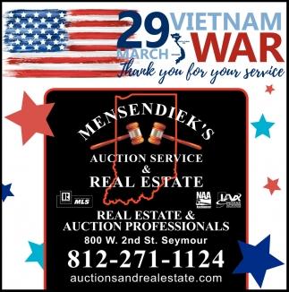 Real Estate & Auction Professionals